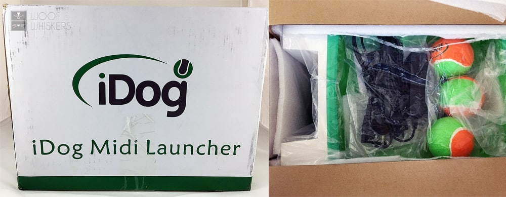 Unboxing the iDog launcher