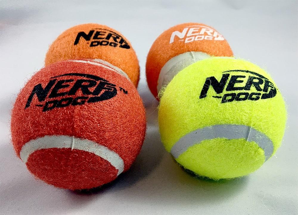 nerf dog balls