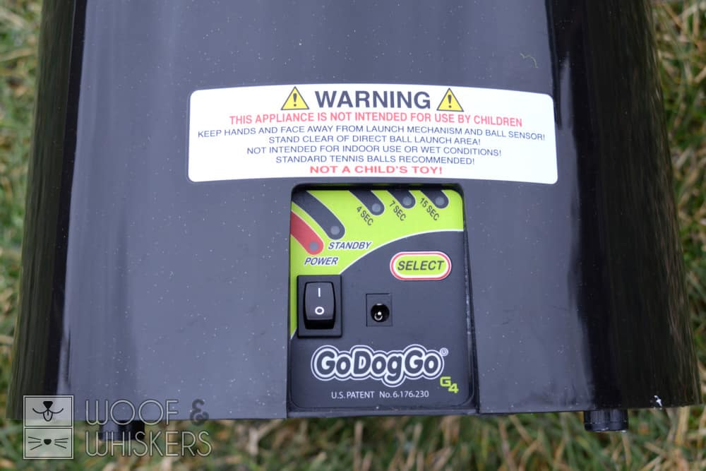 godoggo g4 control panel