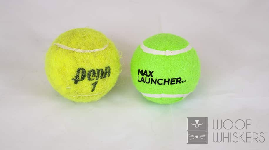max launcher ball size