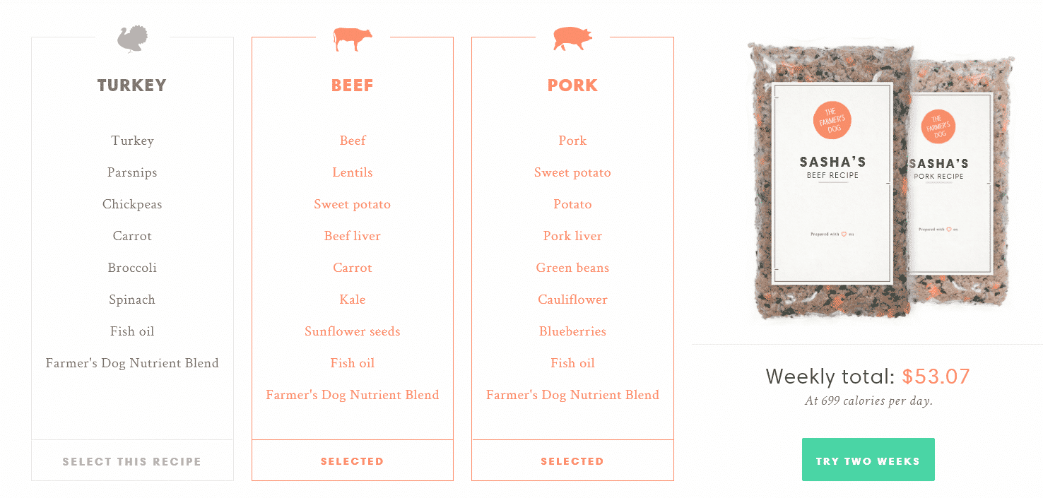 How to get started with Farmer's Dog
