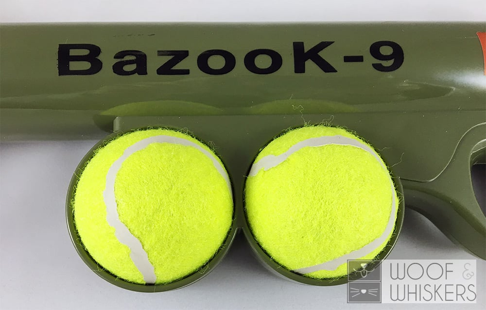 bazook-9 can hold 2 balls