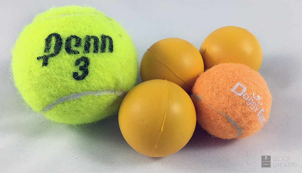 Doggy Fun ball size