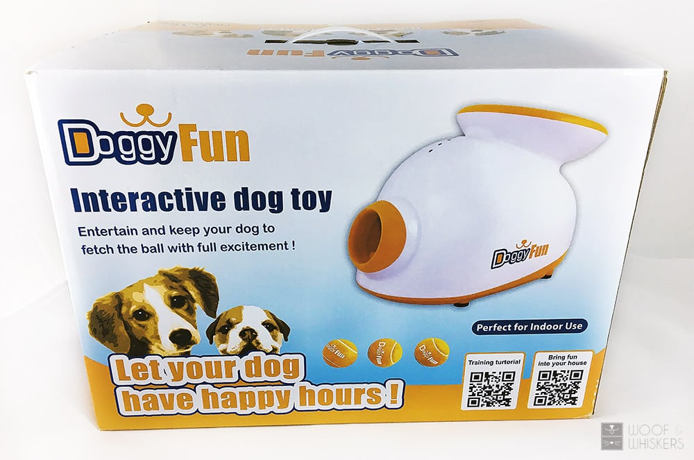 Unboxing the doggy fun launcher