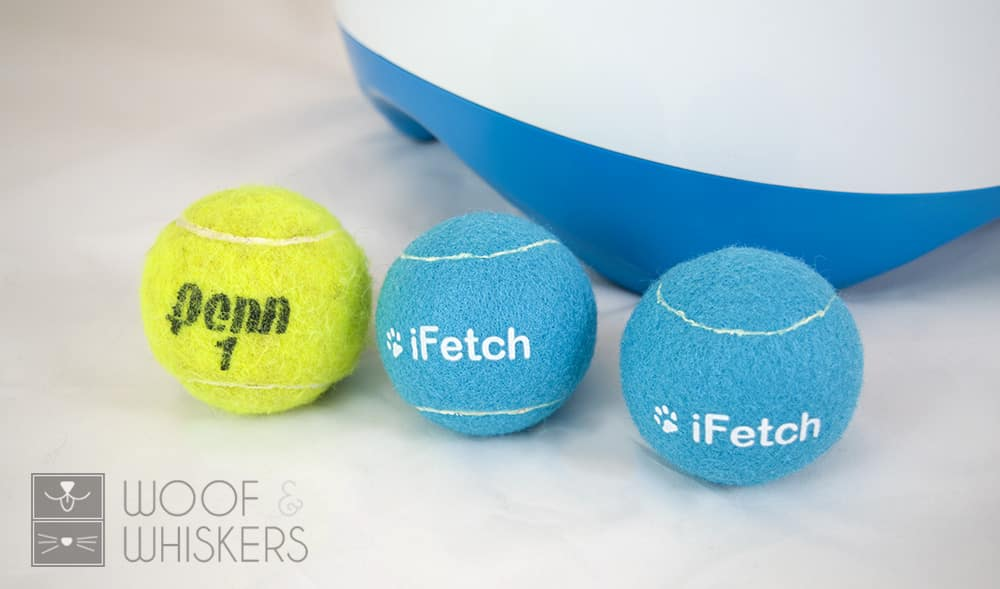 ifetch too ball size