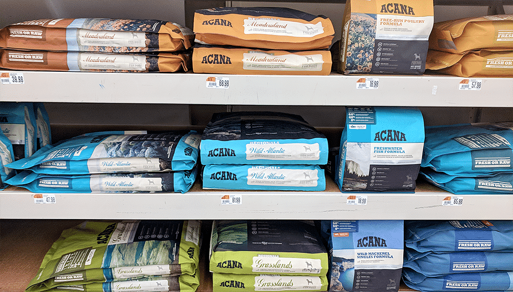 ACANA on store shelf