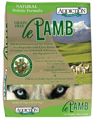 le lamb addiction dog food