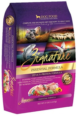 Zignature Zssential dog food