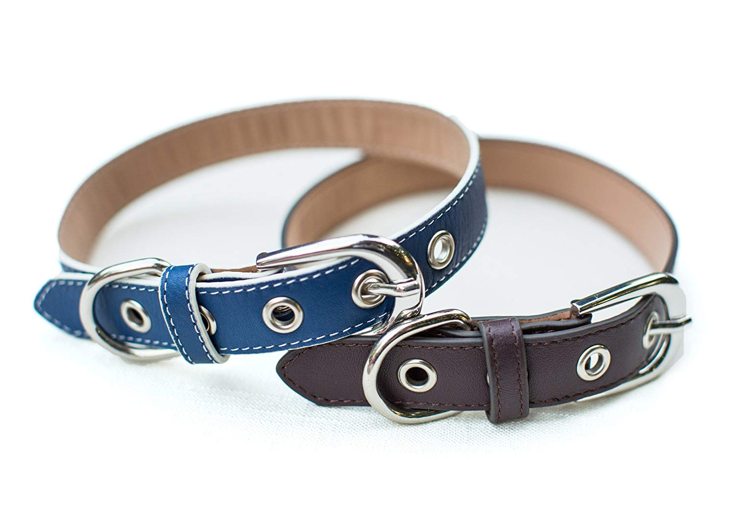 willow penn leather collars