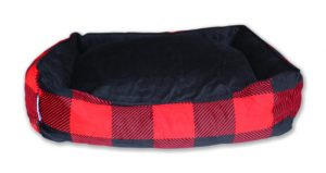 Be One Breed Cozy Buffalo dog bed