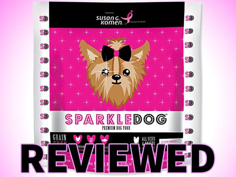 Sparkle dog food review controversial food dye must read