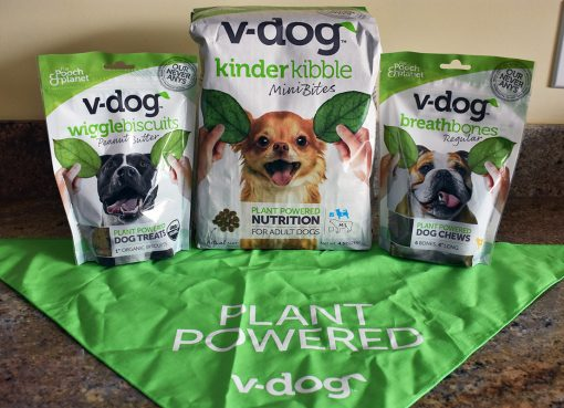V-Dog vegan dog food review