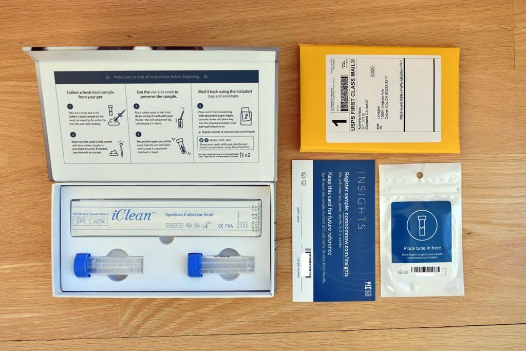 NomNomNow Microbiome kit