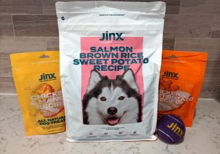 jinx dog food review bags