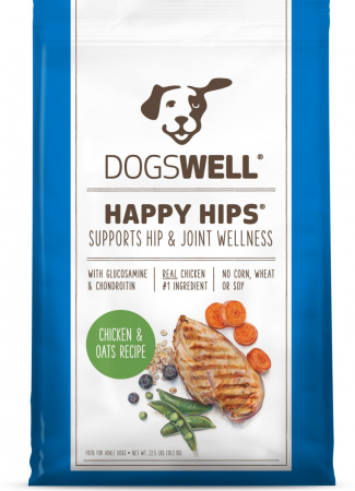 Dogswell Happy Hips Chicken and Oats Recipe Dry Dog Food