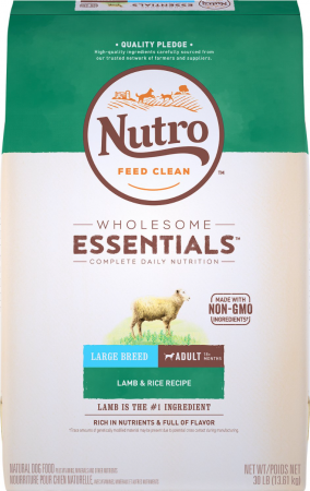 Nutro Wholesome Essentials Large Breed Adult Lamb and Rice Recipe Dry Dog Food