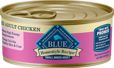 Blue Buffalo - Homestyle Recipe (Small Breed) Chicken Dinner, Canned Dog Food