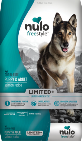Nulo Freestyle Limited+ Salmon Recipe Grain-Free Puppy & Adult Dry Dog Food