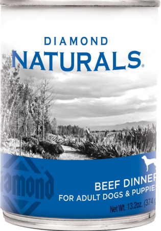 Diamond Naturals Beef Dinner Adult & Puppy Canned Dog Food