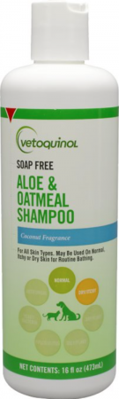 Vetoquinol Vet Solutions for Itchy, Dry Skin: Dog and Cat Shampoo