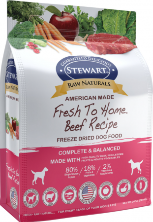 Stewart Raw Naturals Grain-Free Freeze-Dried Beef Recipe