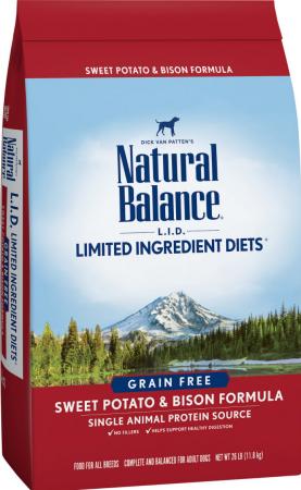 atural Balance Limited Ingredient Diet Formula