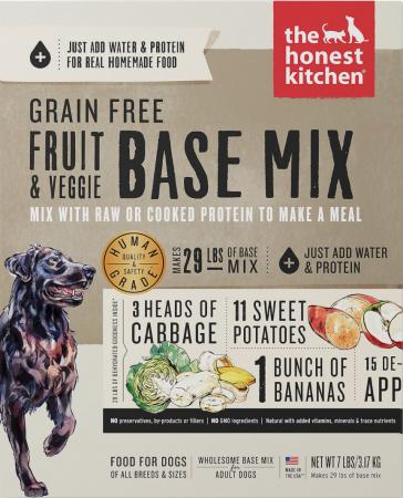 The Honest Kitchen Dehydrated Dog Base Mix
