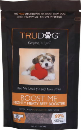 TruDog Boost Me Mighty Meaty Beef Booster