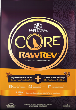 Wellness CORE RawRev Grain-Free Puppy Recipe with Freeze-Dried Turkey