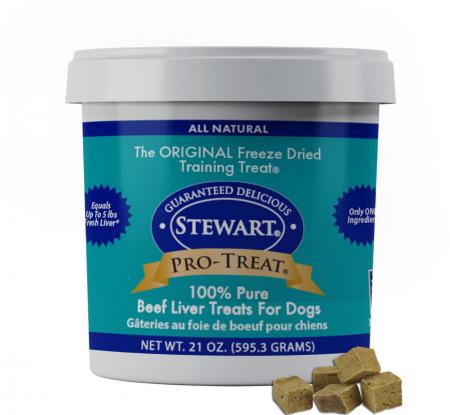 Stewart Pro-Treat Freeze-Dried Raw Beef Liver Treats