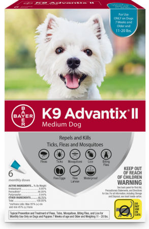 K9 Advantix II Flea, Tick & Mosquito Prevention